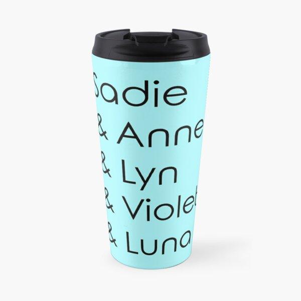 Three Player Co-op Ladies Travel Mug