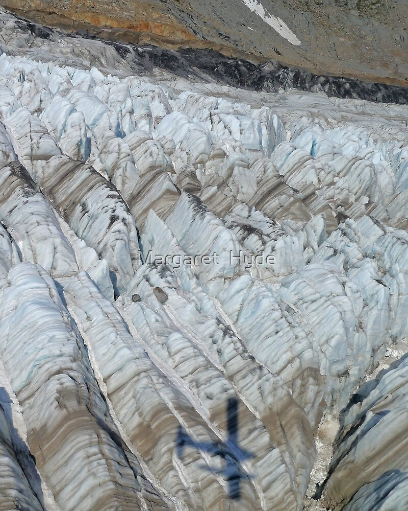Surface of a glacier, Kodiak Island, Alaska, USA  by Margaret  Hyde