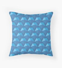 Diamond Shell Throw Pillow