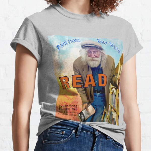 Paul-inate your mind READ Classic T-Shirt