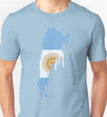 Argentina Paint Drip T-Shirt