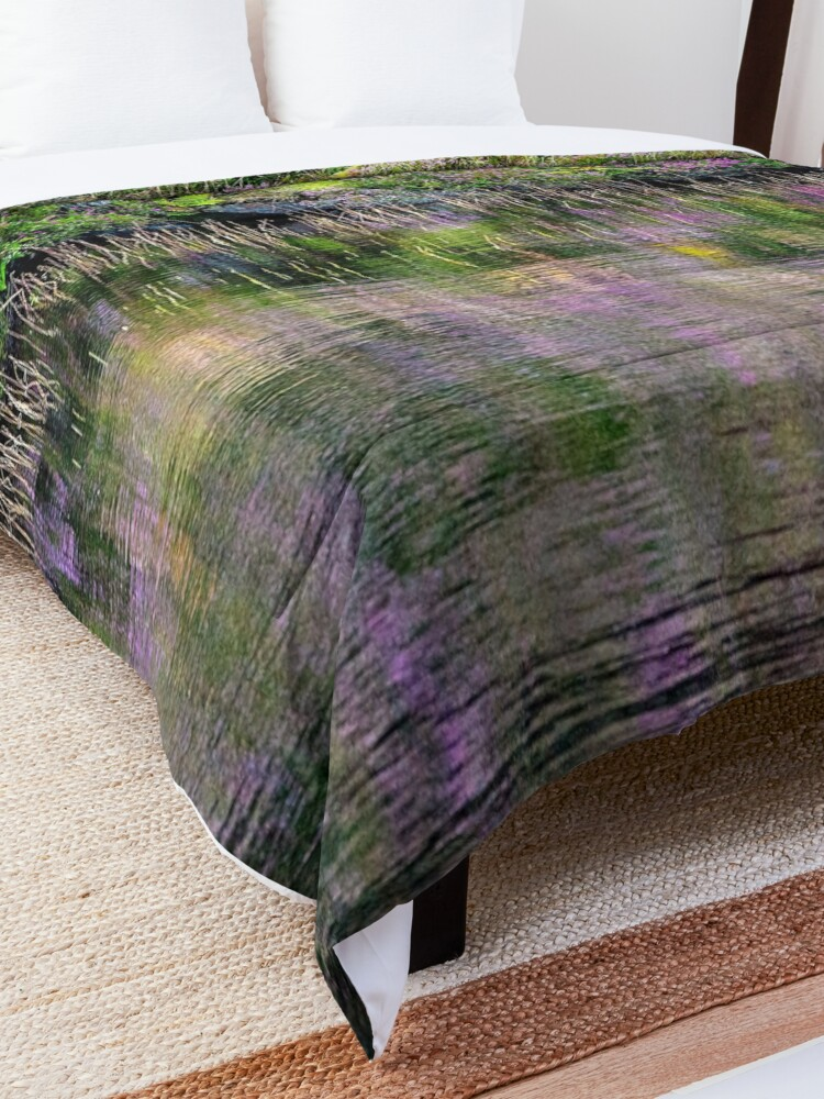 Alternate view of Monet's Heather Comforter
