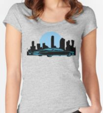 Cadillac Moon Women's Fitted Scoop T-Shirt
