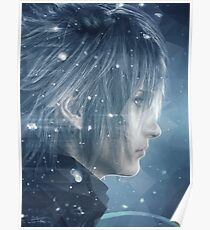 FFXV Polygon Noctis Poster