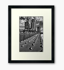 Counting the Rivets - Melbourne Framed Print