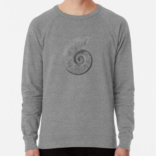 Ammonite Fossil Lightweight Sweatshirt