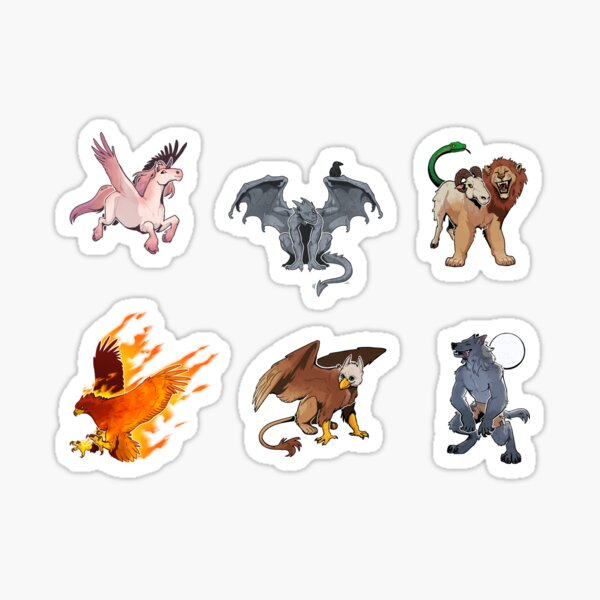 mythical creatures! Sticker