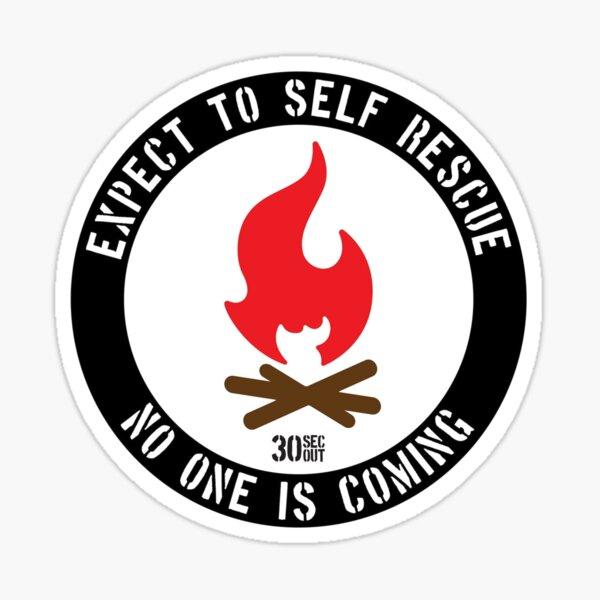 Self Rescue Sticker