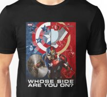 Whose Side Are You ? Civil War Unisex T-Shirt