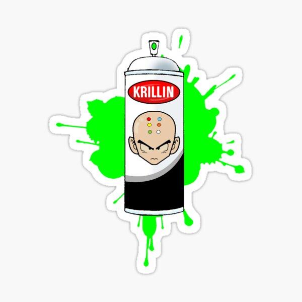 Krylon Krillin Sticker
