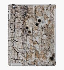 Wooden texture. Tree bark. iPad Case/Skin