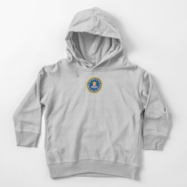 Proud of FBI Agent Toddler Pullover Hoodie