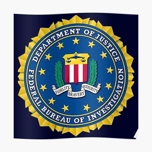 Proud of FBI Agent Poster