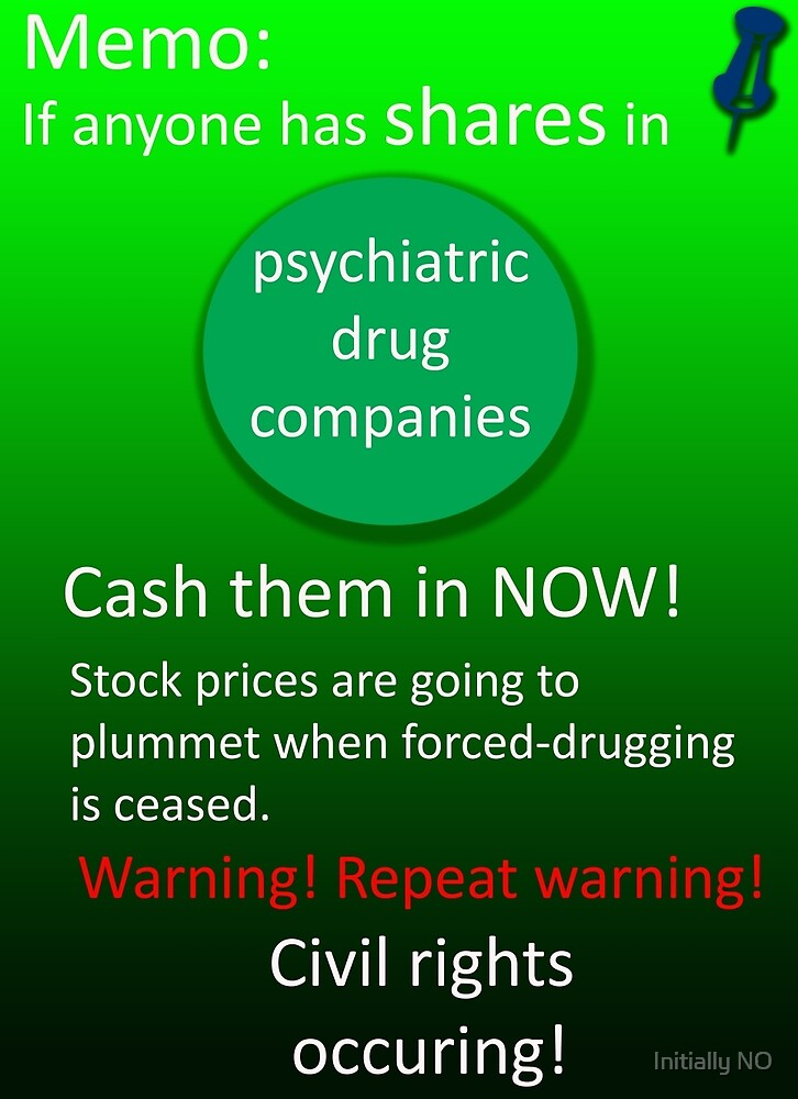 Shares warning! by Initially NO