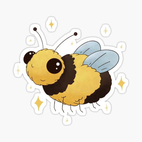 Cute Lil' Bee Sticker