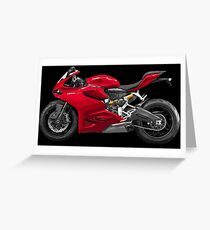 Ducati 899 Panigale Greeting Card