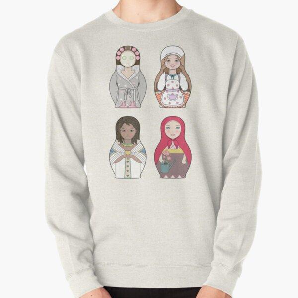 Nesting Doll Pattern Pullover Sweatshirt