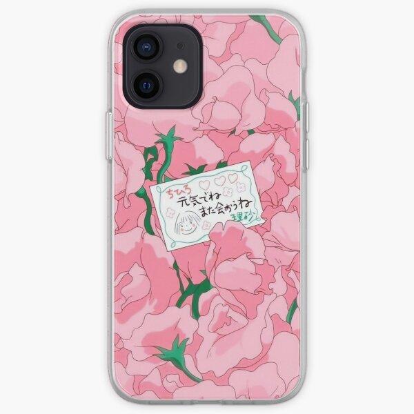 Spirited Away Goodbye Flowers iPhone Soft Case