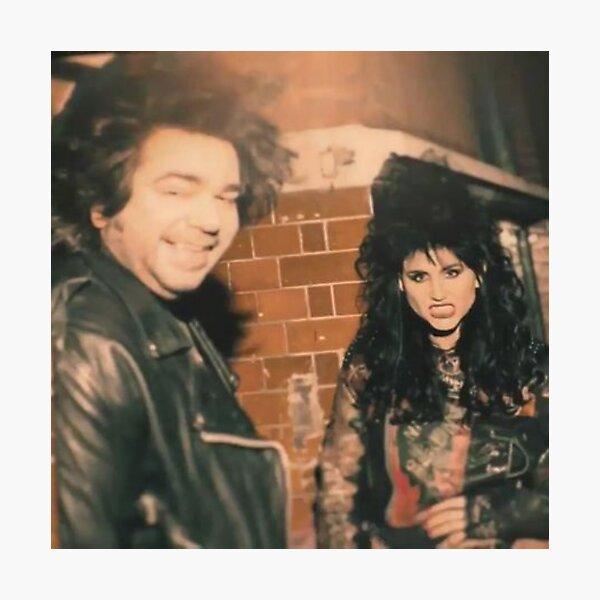 Laszlo & Nadja in the 80s Photographic Print
