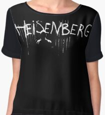 My name is Heisenberg - Graffiti Spray Paint Breaking Bad Women's Chiffon Top