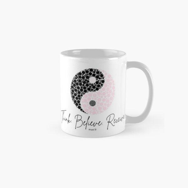 Manifest It! Pink Ying Yang Classic Mug