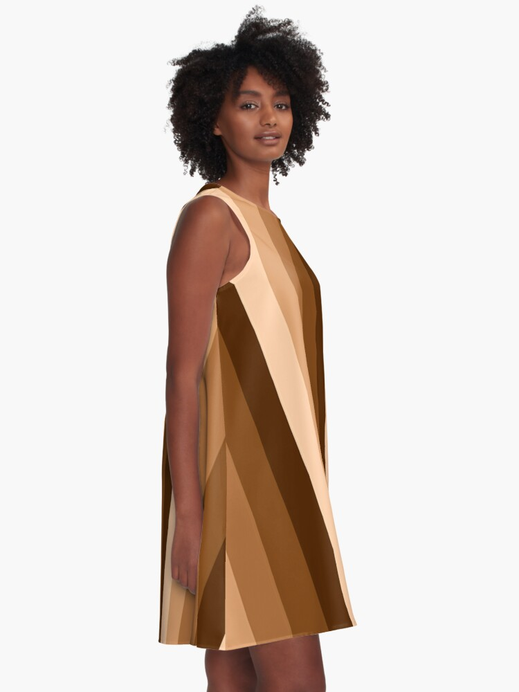 Alternate view of Brown is beautiful A-Line Dress