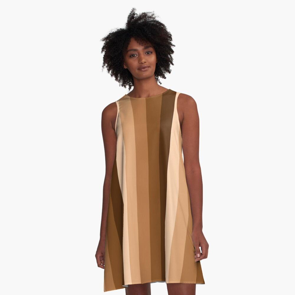 Brown is beautiful A-Line Dress