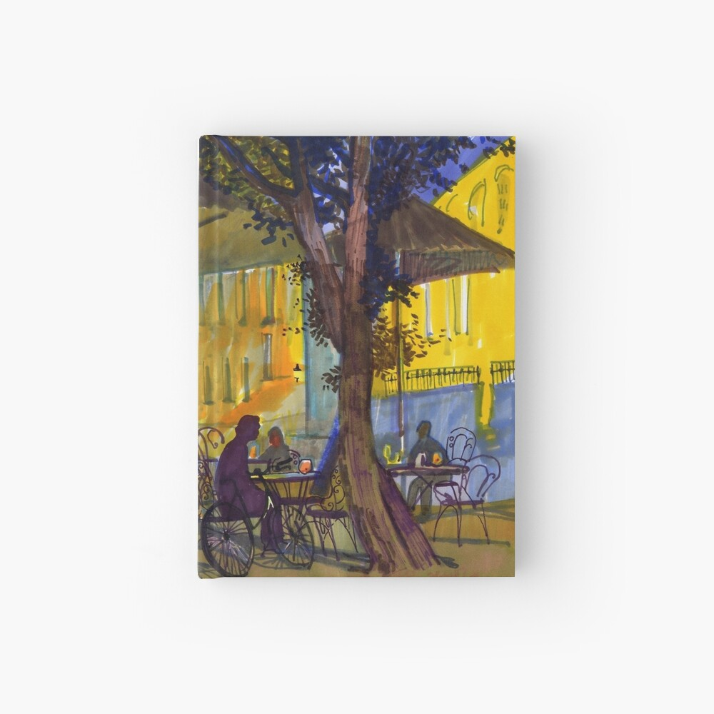 Night tables Hardcover Journal