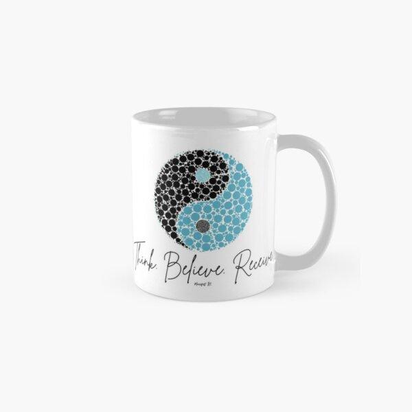 Manifest It! Blue Ying Yang Classic Mug