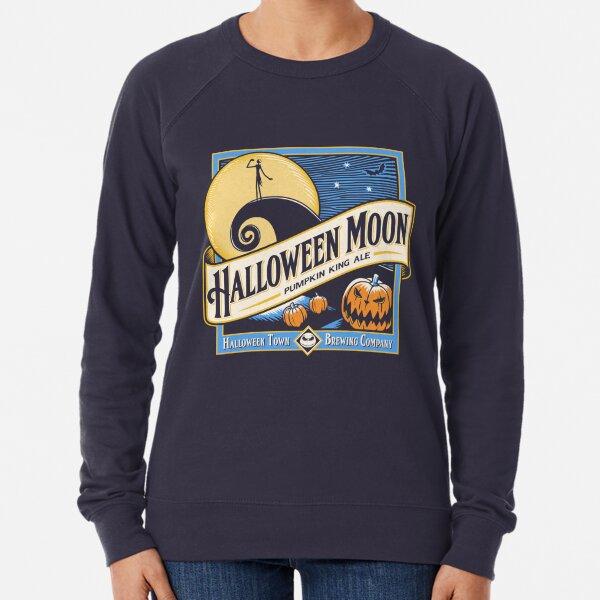 Halloween Moon Lightweight Sweatshirt