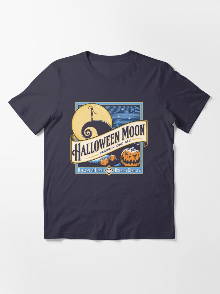 Alternate view of Halloween Moon Essential T-Shirt