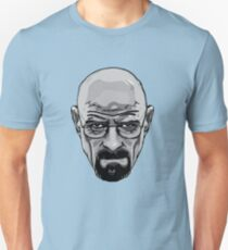 Walter White - Heisenberg - Breaking Bad- Black and White T-Shirt