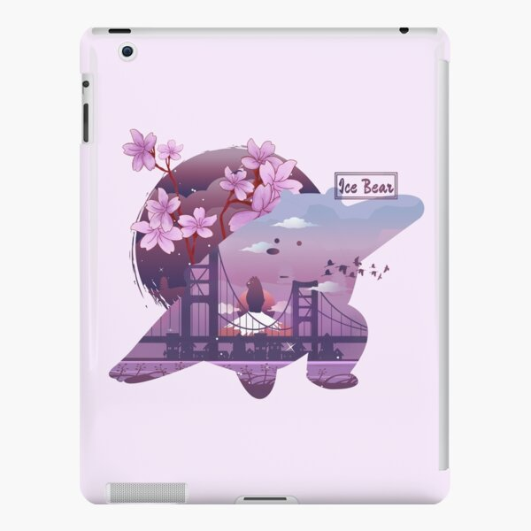 Ice Bear is Ready to Fight iPad Snap Case
