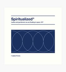 Spiritualized - Ladies and Gentlemen We Are Floating in Space  Art Print