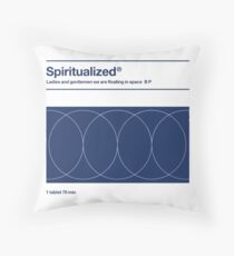 Spiritualized - Ladies and Gentlemen We Are Floating in Space  Throw Pillow