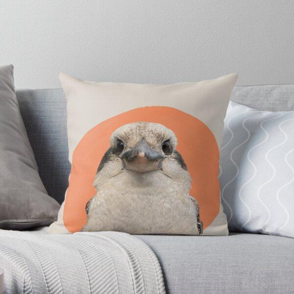 Mabel The Kookaburra Throw Pillow