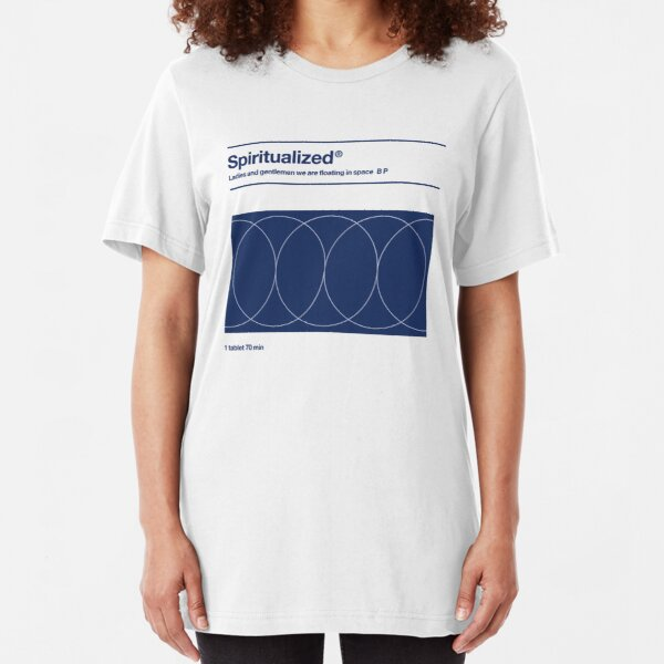 Spiritualized - Ladies and Gentlemen We Are Floating in Space  Slim Fit T-Shirt