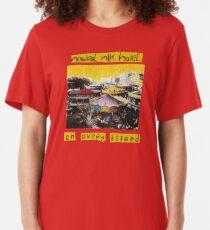 Neutral Milk Hotel - On Avery Island Slim Fit T-Shirt