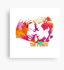 The Ponds, Amy and Rory  Metal Print