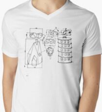 Modest Mouse - Building Nothing Out of Something  Men's V-Neck T-Shirt