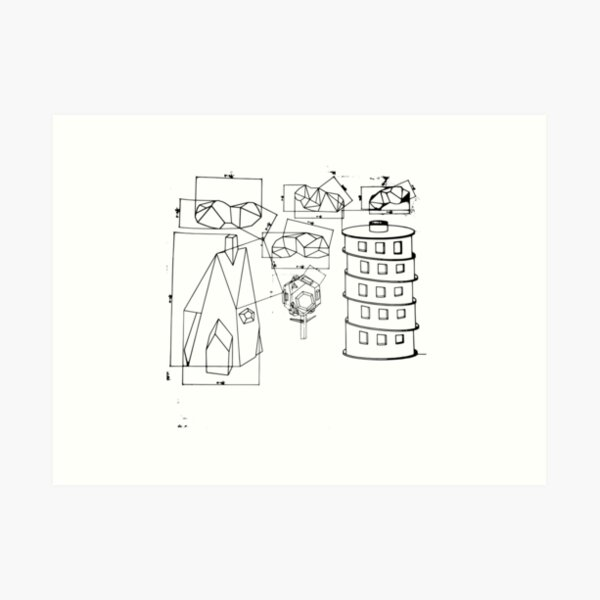 Modest Mouse - Building Nothing Out of Something  Art Print