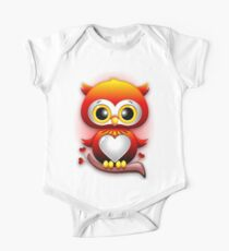 Baby Owl Love Heart Cartoon  Kids Clothes