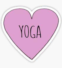 Yoga-Liebe Sticker