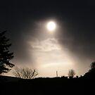 Moon Shower Derry, Ireland by mikequigley