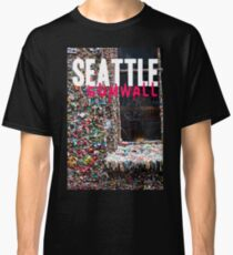 Seattle Gum Wall Classic T-Shirt