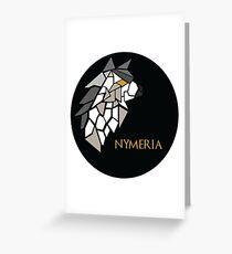 Direwolf - Nymeria Greeting Card