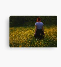 To find peace Canvas Print