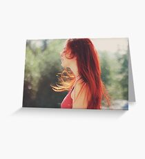 Summer feelings Greeting Card