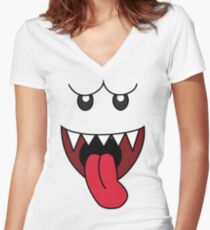 boo Women's Fitted V-Neck T-Shirt