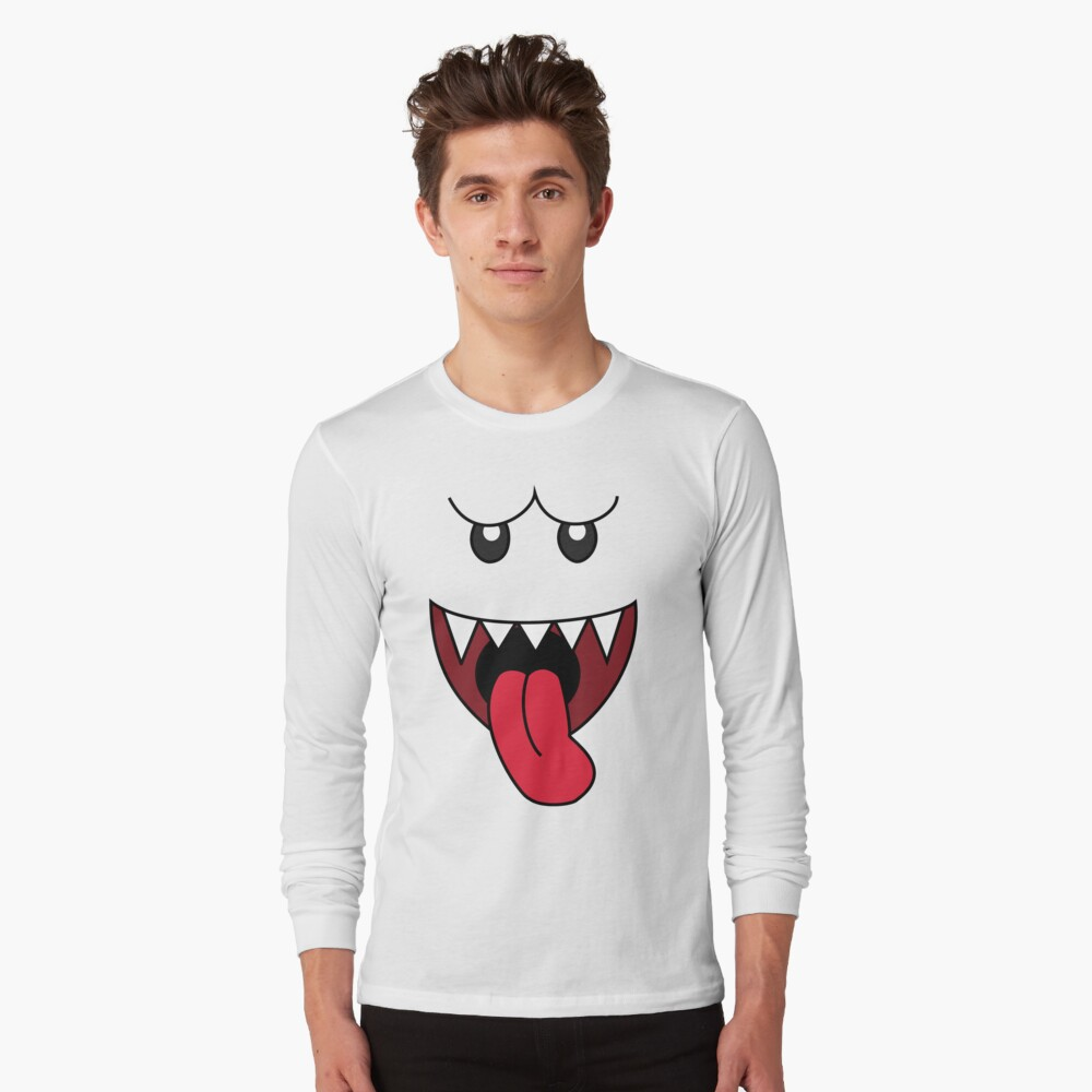 boo Long Sleeve T-Shirt